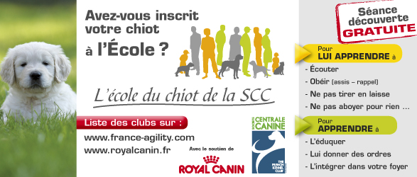 Ecole du Chiot Royal Canin